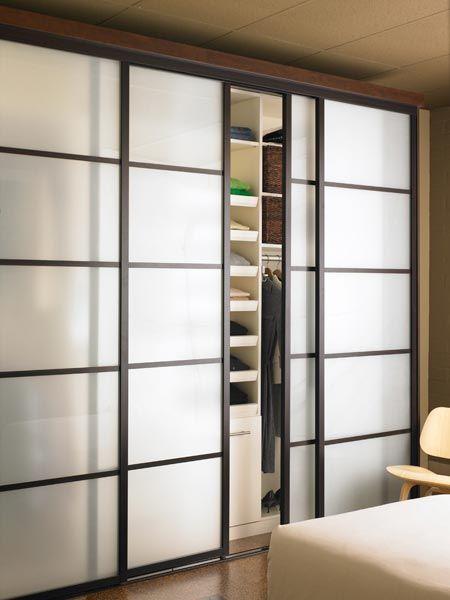Multi-panel doors allow for