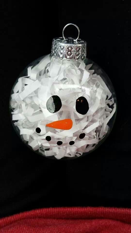 clear plastic christmas ball ornament crafts