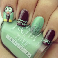 25+ best ideas about Owl nail designs on Pinterest   Owl ...