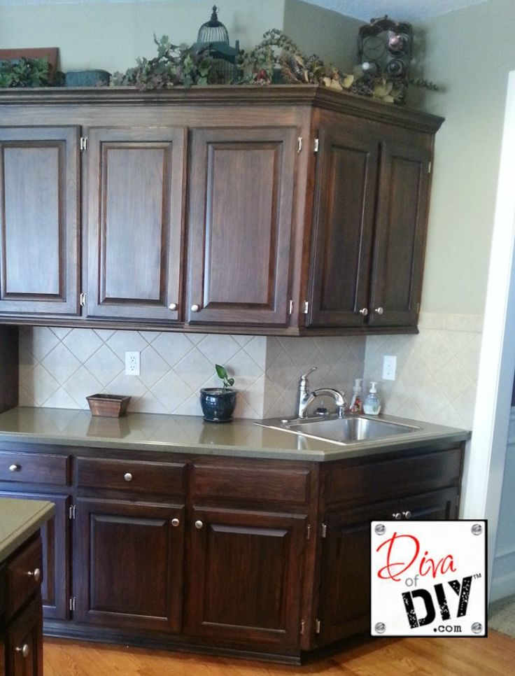 country kitchen canister sets ceramic custom island for sale re-do cabinets yourself - this site makes it sound so ...
