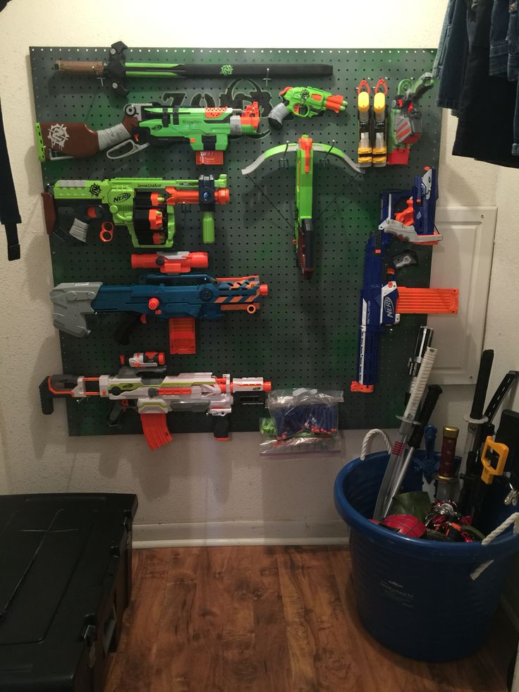Nerf Gun Storage My Projects What I Have Personally