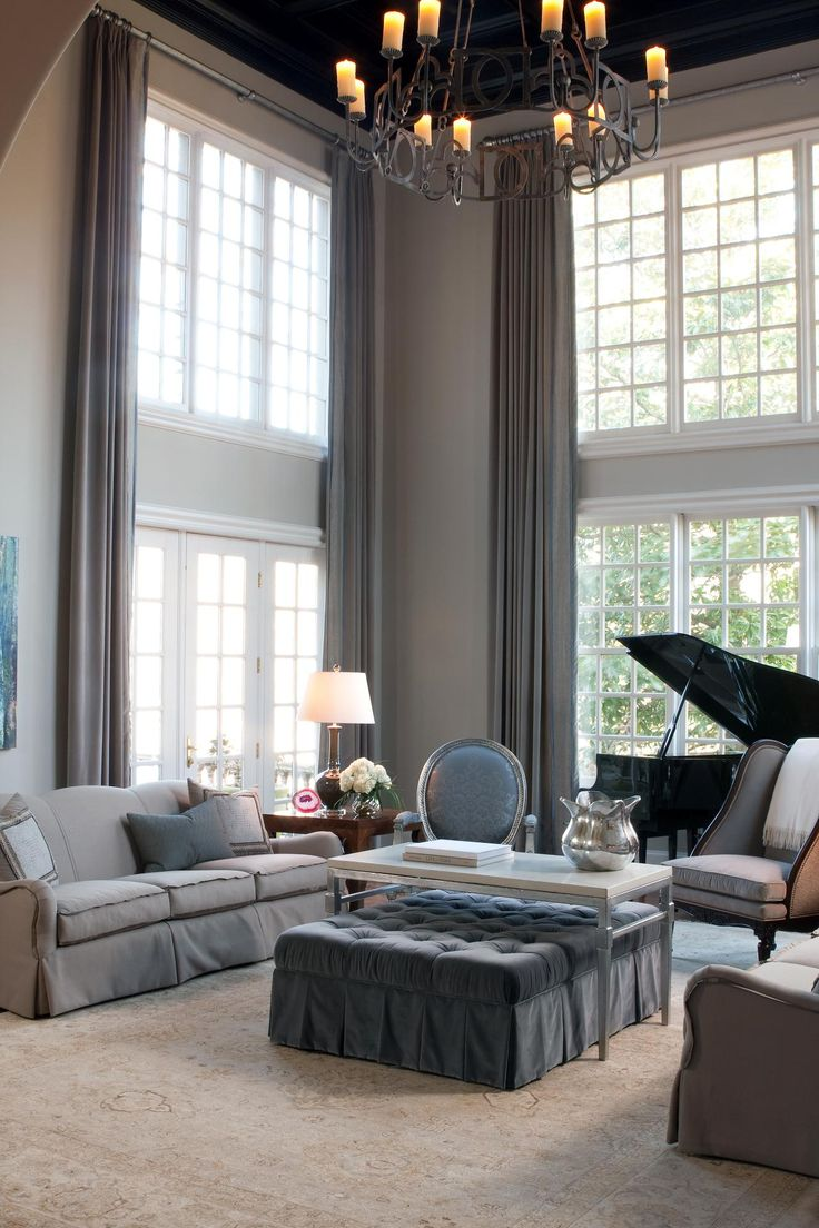 Best 20 Tall window treatments ideas on Pinterest  Tall window curtains Cream home curtains