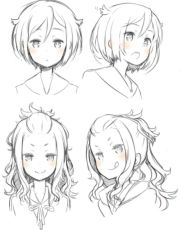 girl hairstyles pose position reference