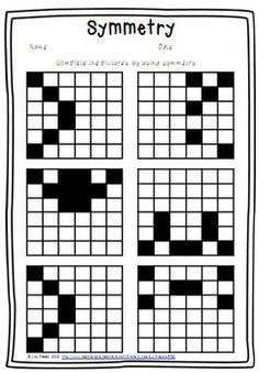 1000+ ideas about Symmetry Worksheets on Pinterest