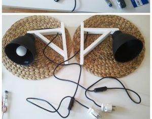 Diy Bedside Table Lamps Downloadable Free Plans
