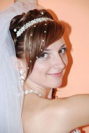 perfect wedding hair with side