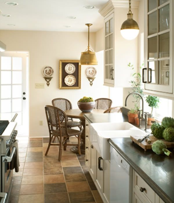 Small Cottage Kitchen Makeovers  To create warmth Amy