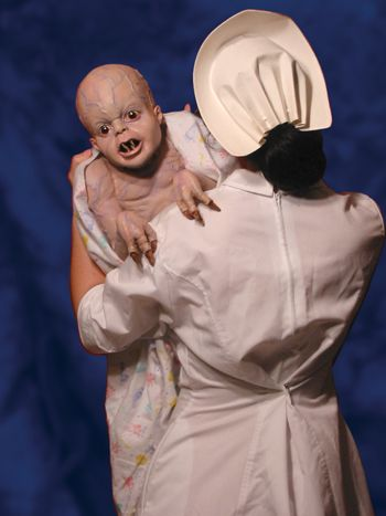Its Alive Baby Puppet  props  Pinterest  Babies Ps