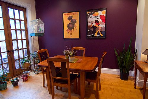 Purple Accent Walls And Purple Accents