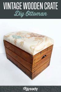 17 Best ideas about Diy Ottoman on Pinterest | Upholstery ...