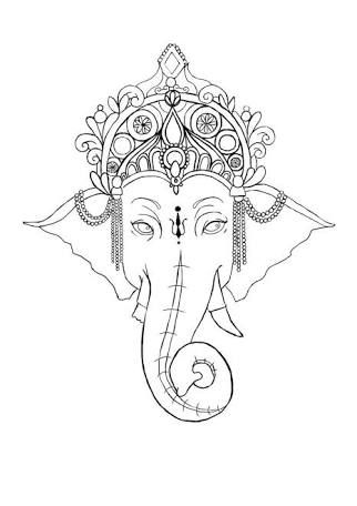 25+ best ideas about Henna elephant tattoos on Pinterest