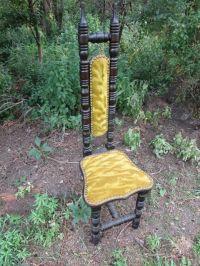 Antique Chair Gothic Medieval style Jacobean narrow High ...