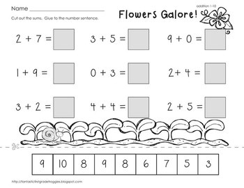 10 Best images about Kindergarten/ Addition on Pinterest