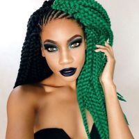 1000+ ideas about Colored Box Braids on Pinterest | Box ...