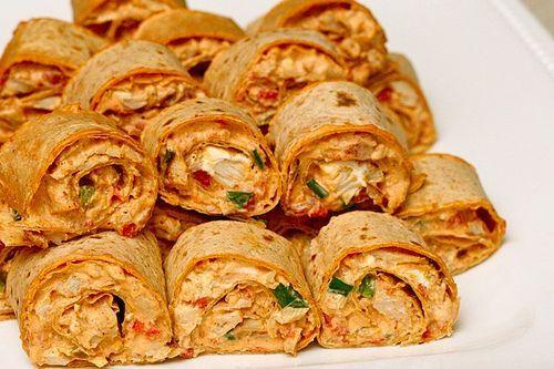 Chicken Enchilada roll-ups… Sounds like one for super-bowl!!!