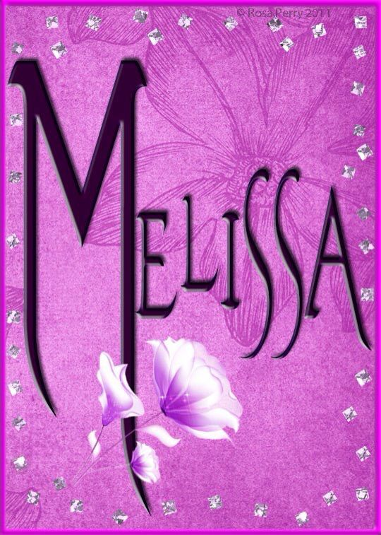 Uma Name Wallpaper 3d 17 Best Images About Melissa On Pinterest Honey Bees