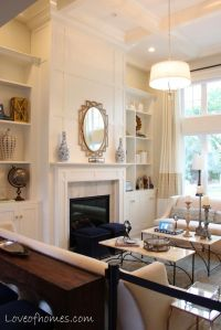 25+ best ideas about Tall fireplace on Pinterest