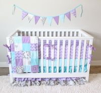 Baby Girl Nursery Purple And Teal | www.imgkid.com - The ...