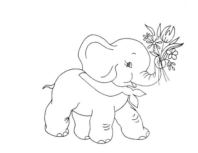 49 best images about Elephant Embroidery Patterns on
