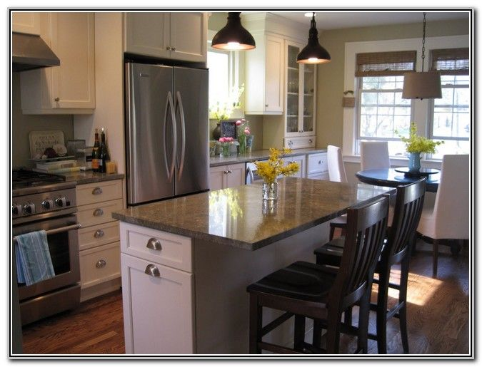 Small Kitchen Island With Seating For 2  Kitchen Ideas