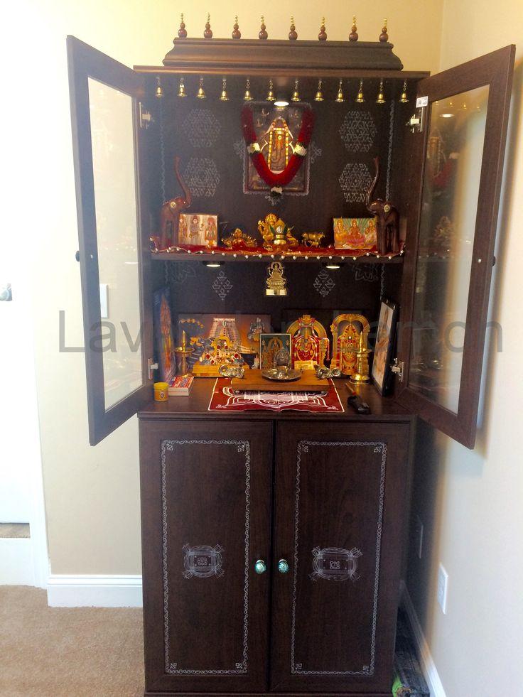 IKEA Shelf Home Mandir Puja Room And Room