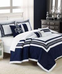 1000+ ideas about Navy Blue Comforter on Pinterest | Blue ...