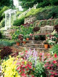 Best 20+ Terraced Landscaping ideas on Pinterest | Sloped ...