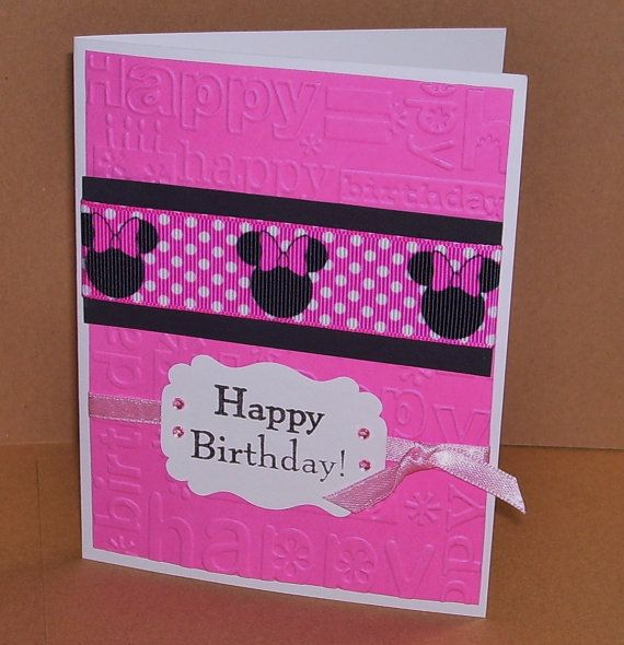17 Best Images About Card Making Mickey & Minnie On