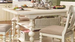 Paula Deen Home Counter Height Kitchen Gathering Table