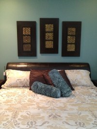 17 Best images about {Home} Bedroom - Teal, Brown & Gold ...