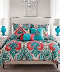 25+ best ideas about Coral Bedspread on Pinterest | Coral ...
