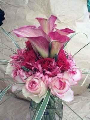 Beautiful Fall Wedding Flower