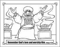 357 best images about SS/KC/VBS Coloring pages on