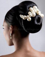 cute large bun hairstyle