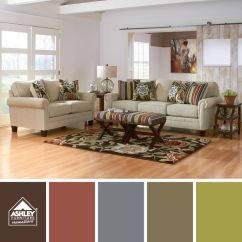 Ashley Furniture Ballari Linen Sofa Cheap Sectional Covers Love The Vibrant Palette In These Patterns! | Liven Up ...