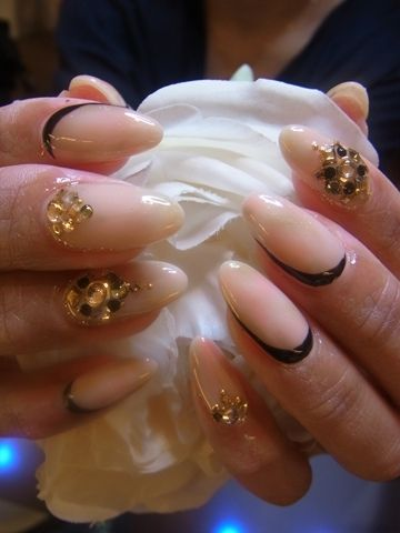 Japanese Nail Design!! Sharp Nails is the style in Japan?
