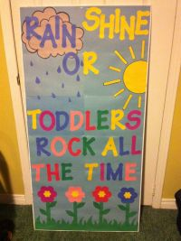Toddler classroom door decor | Toddlers | Pinterest ...