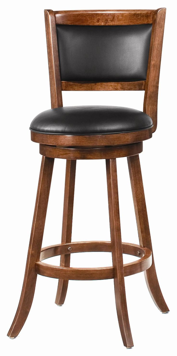 FurnitureCheap And Cool Leather Swivel Bar Stool With