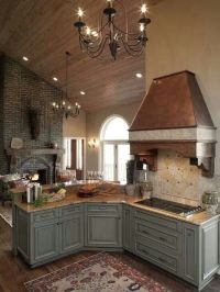 Grey and Copper #Kitchen for an everything Metal Look ...