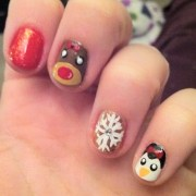 fun holiday nail design