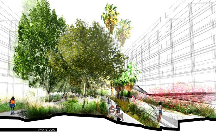 architecture site analysis diagram power at light wiring awesome electric section/montage - aya studio | landscape pinterest studio, landscaping and ...