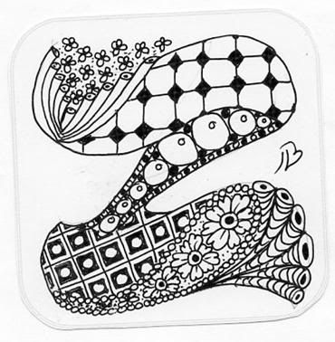 119 best images about Z... zentangle letters on Pinterest