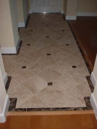 would like to see some neat tile designs for entryway ...
