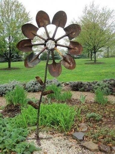 25 Best Ideas About Metal Garden Art On Pinterest Metal Garden