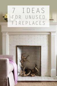 25+ best ideas about Unused fireplace on Pinterest | Faux ...