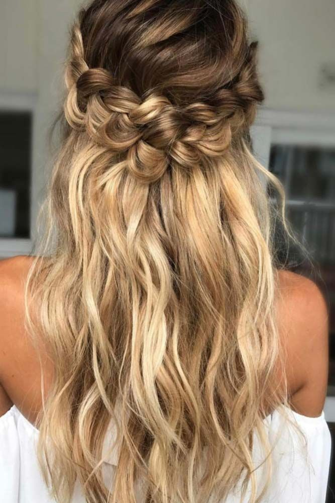 25 best ideas about Straight wedding hairstyles on