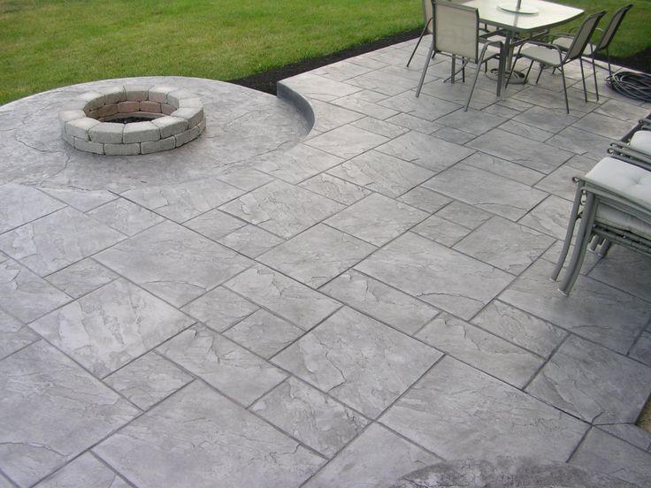 Best 25 Stamped concrete patios ideas on Pinterest