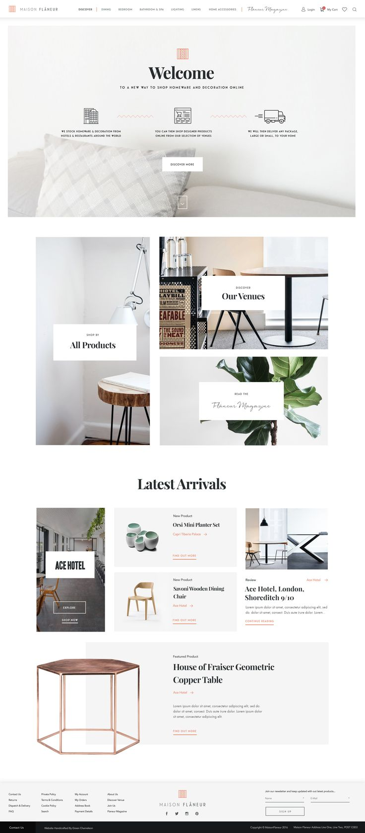 25 Best Ideas About Homepage Design On Pinterest Web Layout