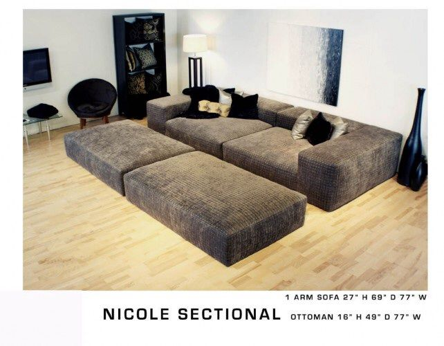 theatre sectional sofa grey leather sale smaller pit   ideas for the house pinterest