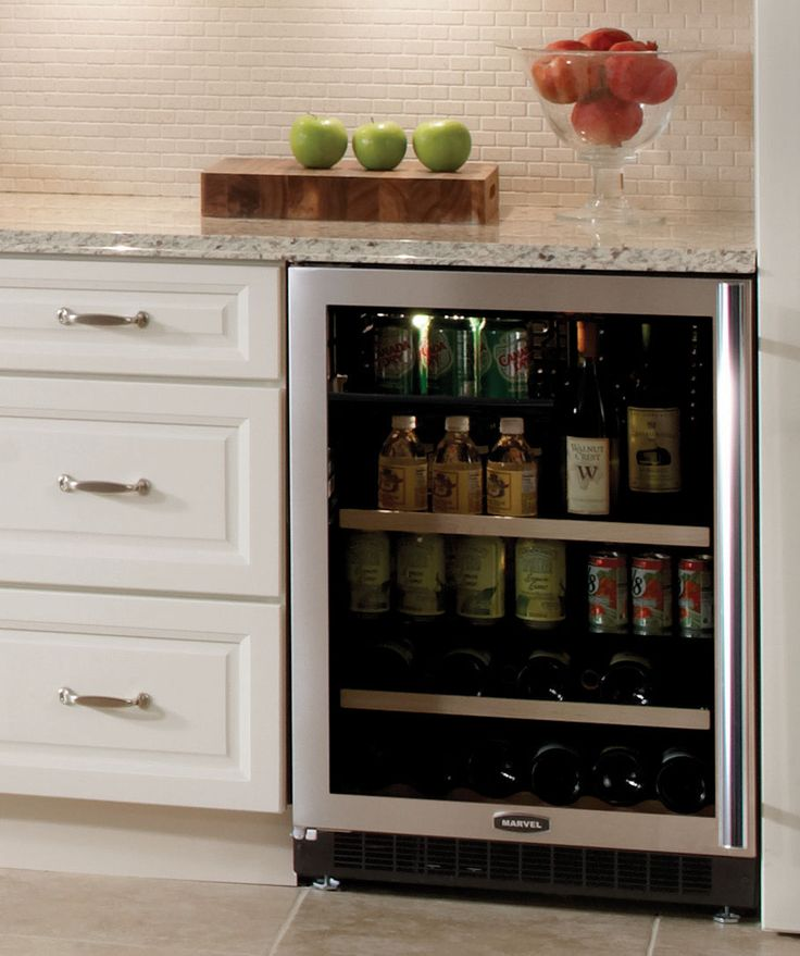 17 Best ideas about Beverage Refrigerator on Pinterest  At home salon station Coffee nook and